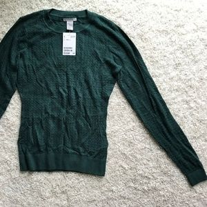 Brand New Green H&M Sweater